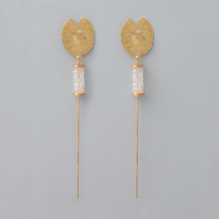 PENDIENTES WATER LILY